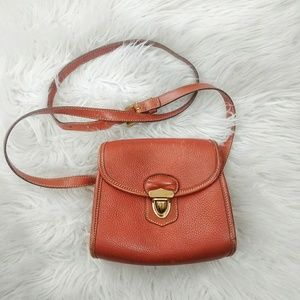 Dooney & Bourke Vintage Leather Shoulder Bag Mini